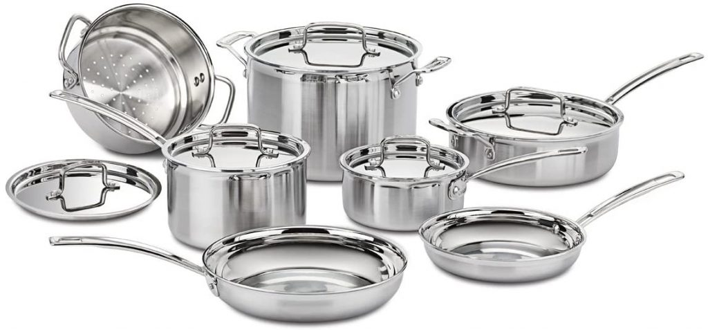 Stainless Steel Cuisinart Cookware Multiclad
