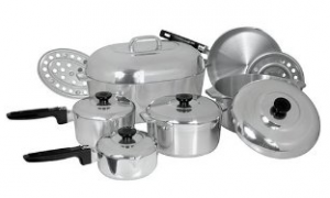 Types of Cookware anodized aluminium