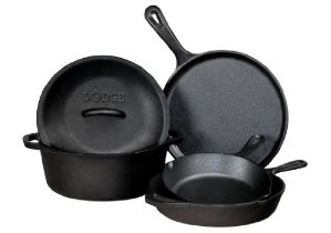 Types of Cookware cast iron