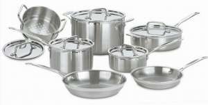 Types of Cookware stainless steel